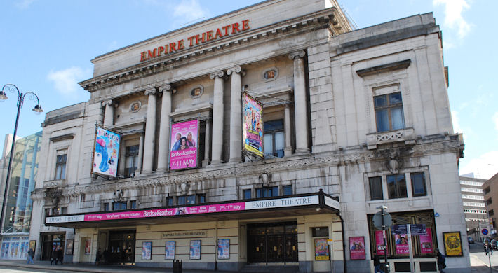 Restaurants near Liverpool Empire Theatre