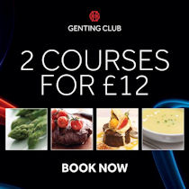 110 Restaurant at Genting Club Queen Square Liverpool